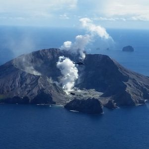 White Island From Air