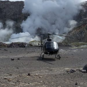 White Island Helicopter
